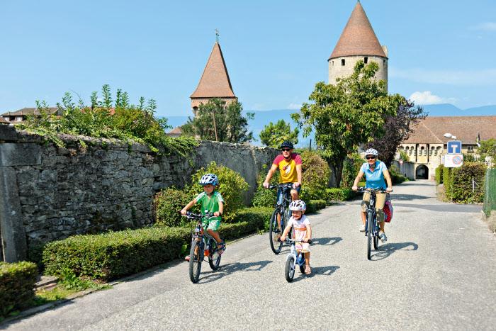 Вдоль берегов Рейна всей семьей… на велосипеде!