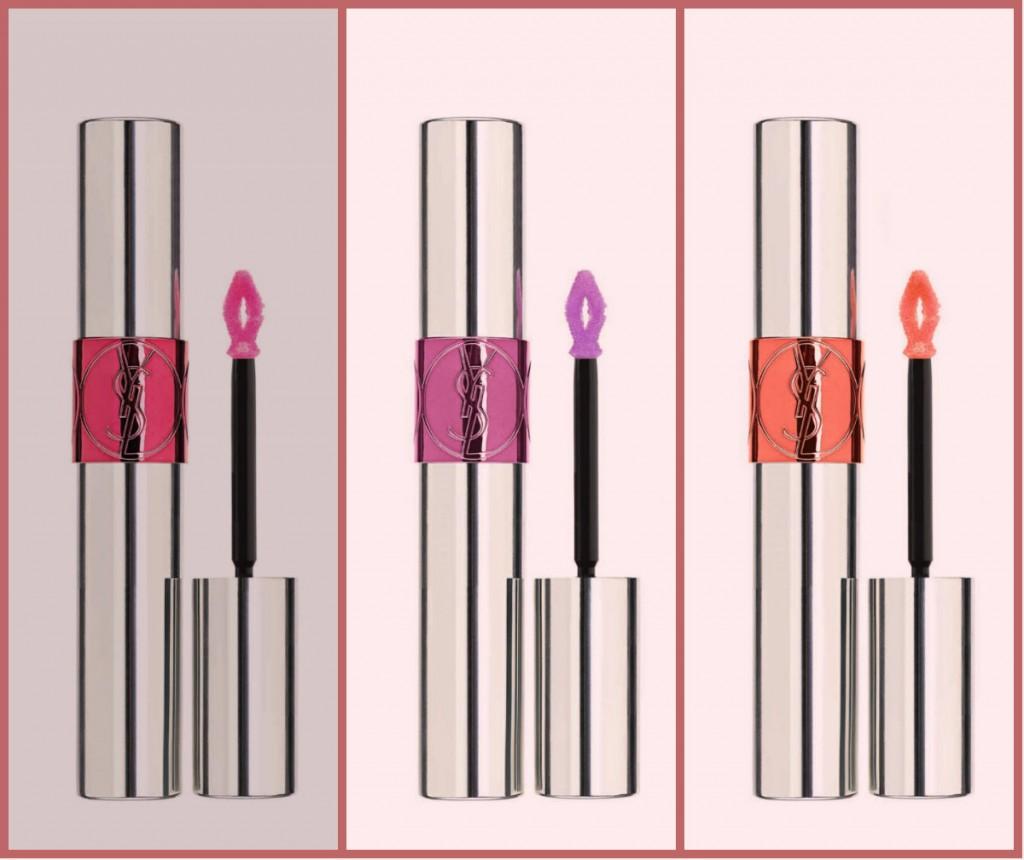 макияж для губ в стиле YSL