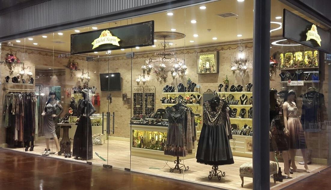 Первый стоковый бутик Michal Negrin открыт в BIG FASHION в Ярке