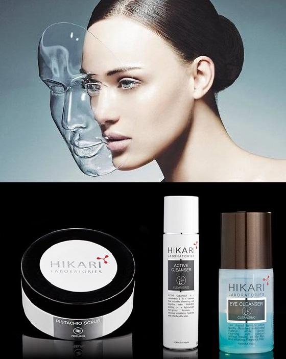 6 средств от HIKARI для полного и глубокого очищения кожи с анти-эйджинговым эффектом.