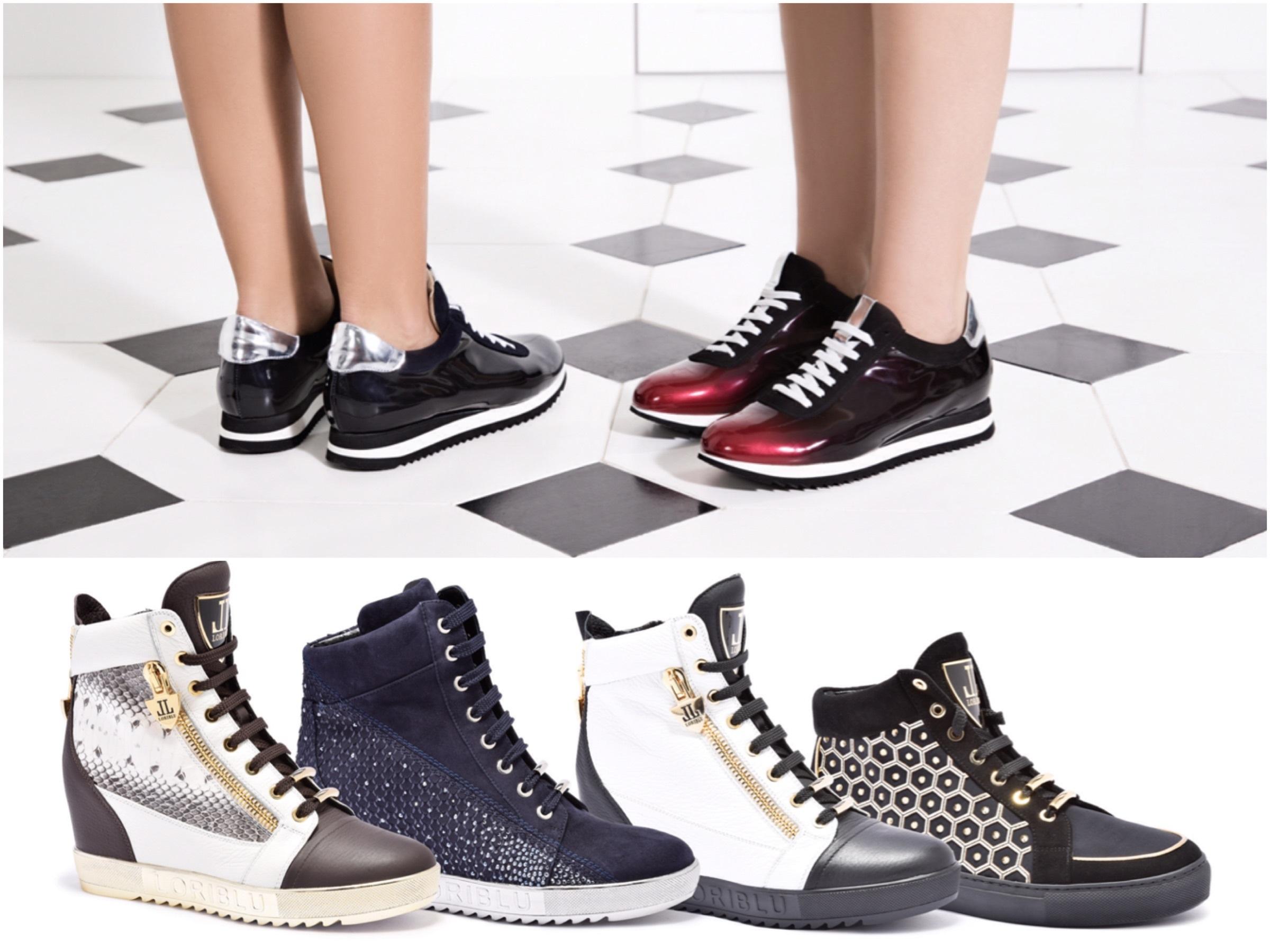Тренд зимы 2015: кроссовки и кеды от Lafayette Italy с классическими юбками и романтическими платьями