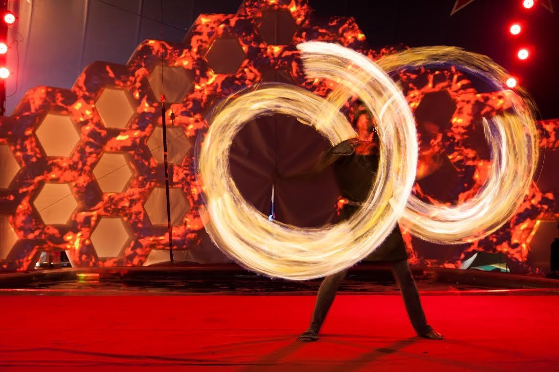Осветите декабрь огнями Ханукив цирке «Флорентин».