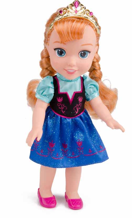 בובה של אנה פרוזן מחיר 99.90 שקלים להשיג ברשת הצעצועים עידן 2000 צילום יחצ.jpg