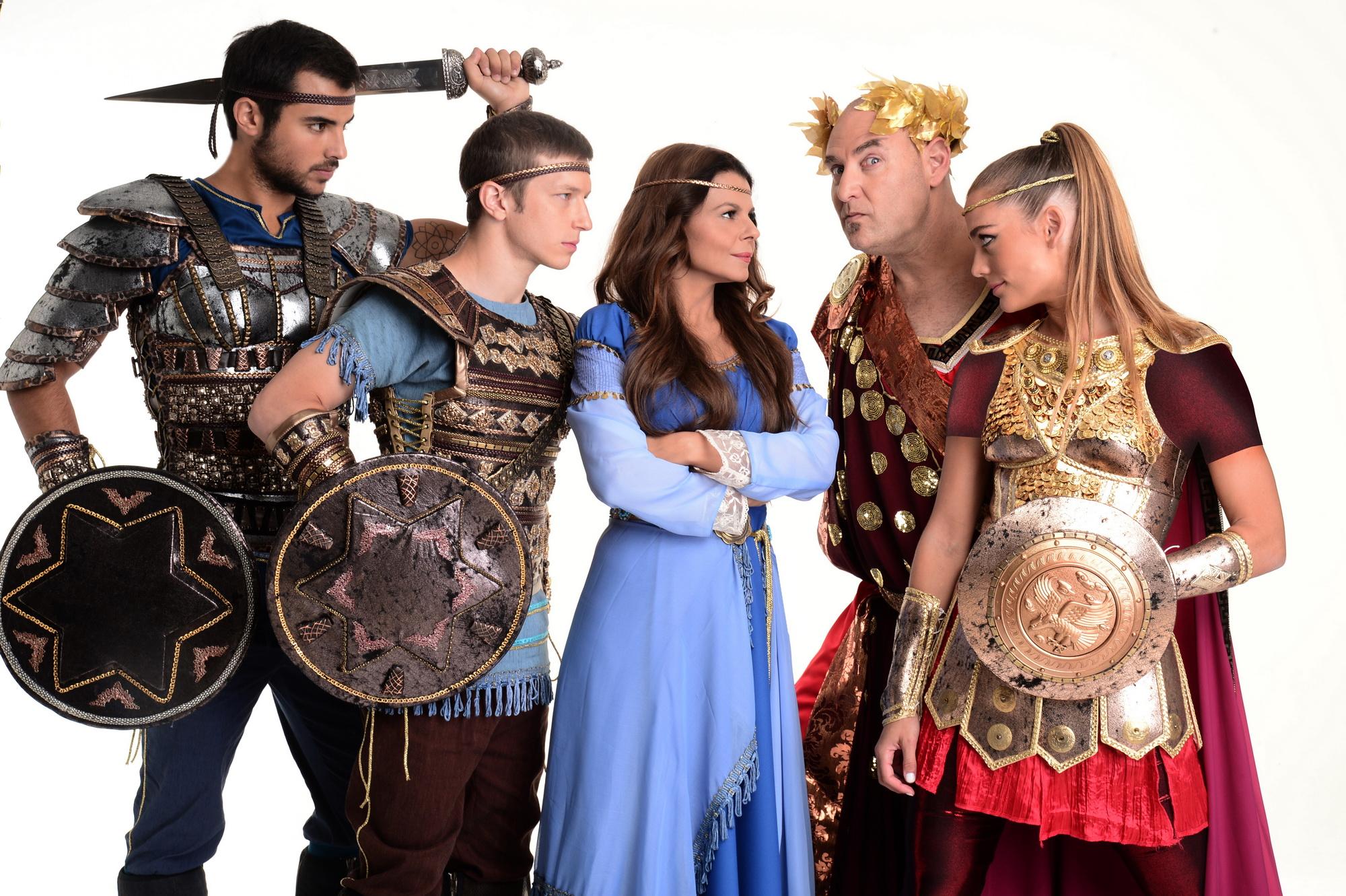 В дни праздника Ханука: звезды израильской поп-музыки в оригинальном мюзикле «Маккавеи»!