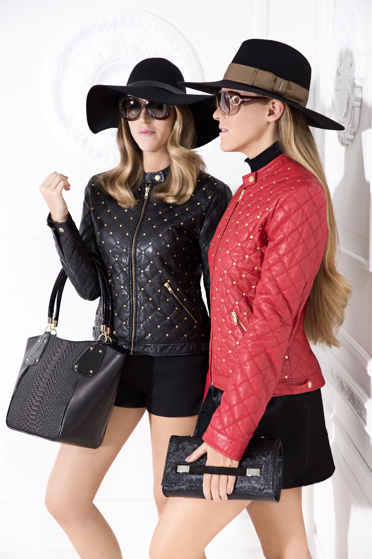 Lafayette Italy: новая коллекция дизайнерских кожаных курток, на 100% сделанных в Италии, – от 1299 шек.