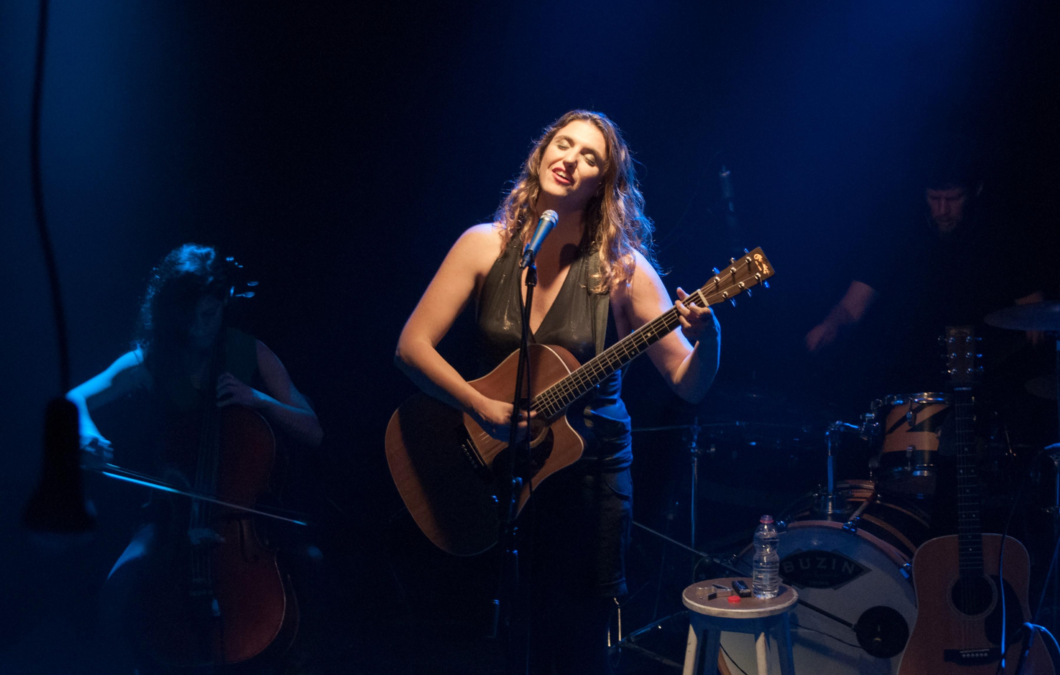 Лимор Балас в акустическом сольном концерте «Для себя»