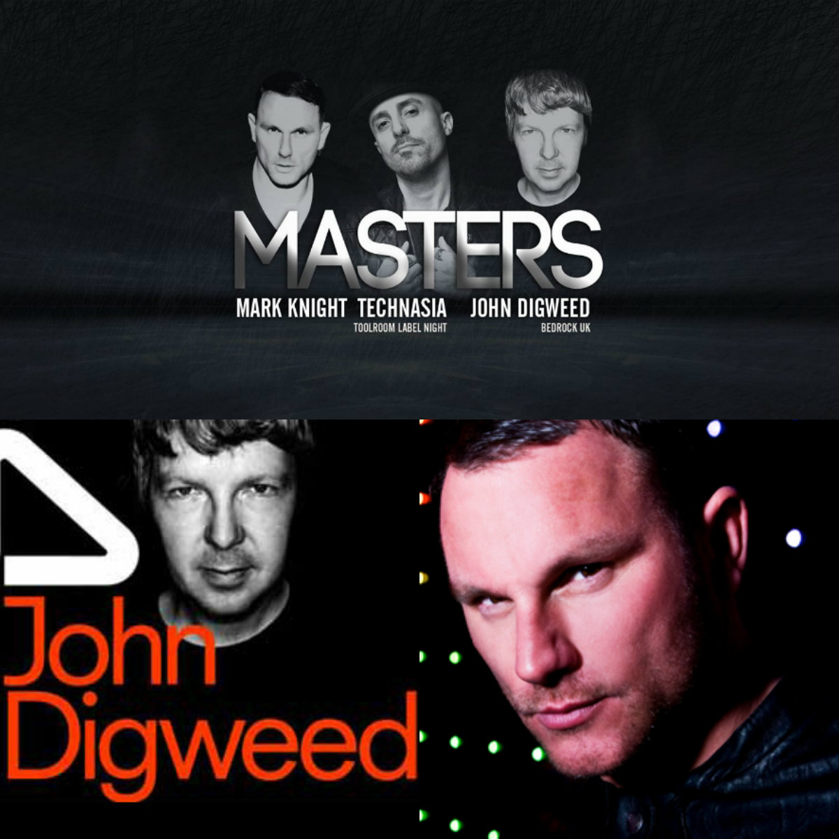 Mark Knight, Technasia & John Digweed в Тель-Авиве