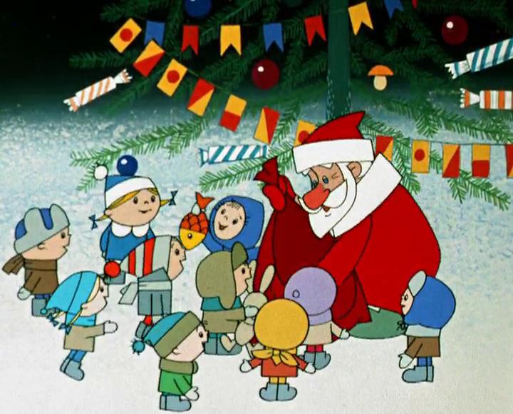 Новый год с мультфильмами от ХОТ – это весело!