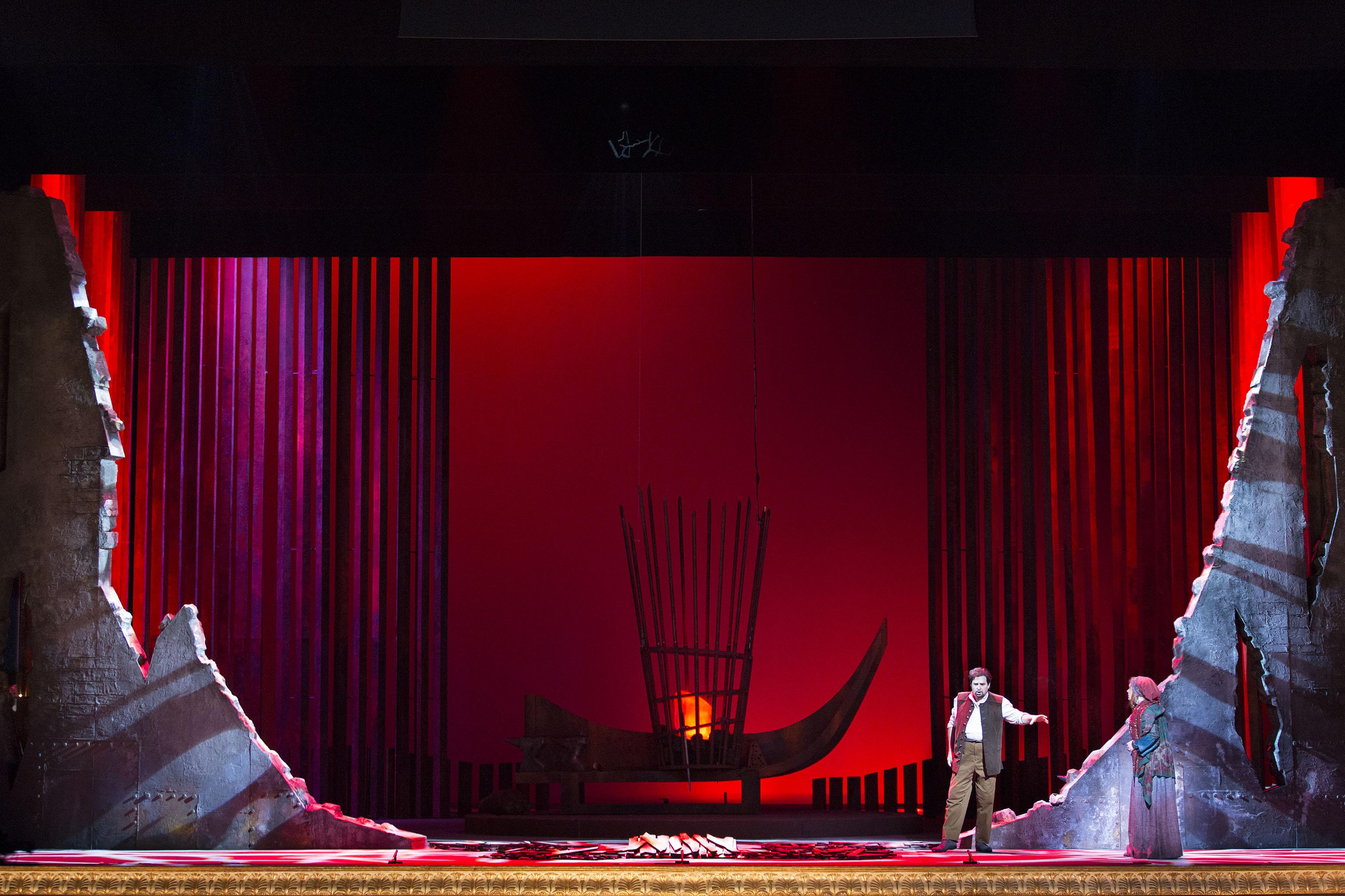 Новогодняя ночь в Опере – «Трубадур» Верди.
