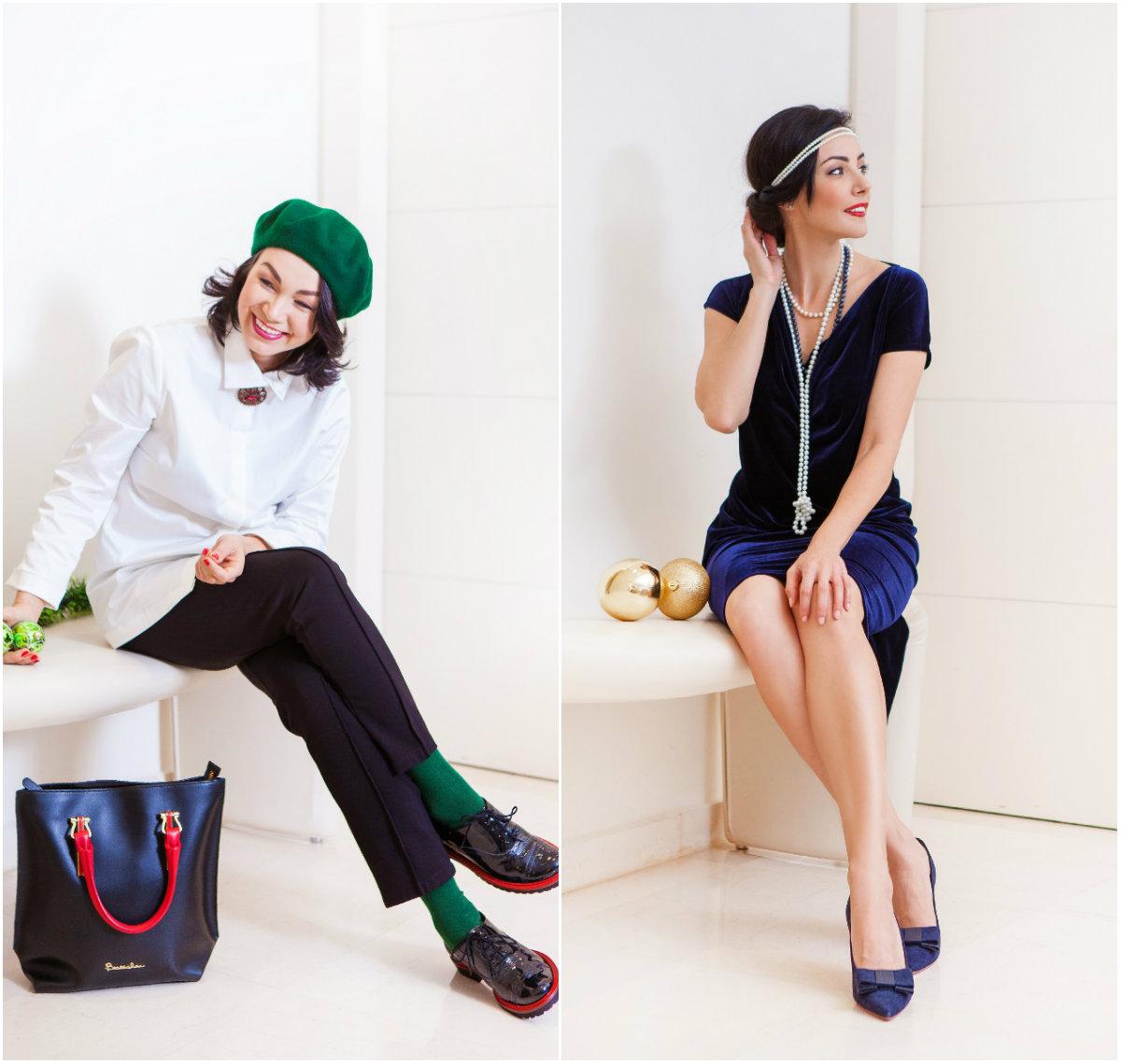 В чем будут встречать новых год модницы Тель-Авива? Праздничные луки – ФОТО