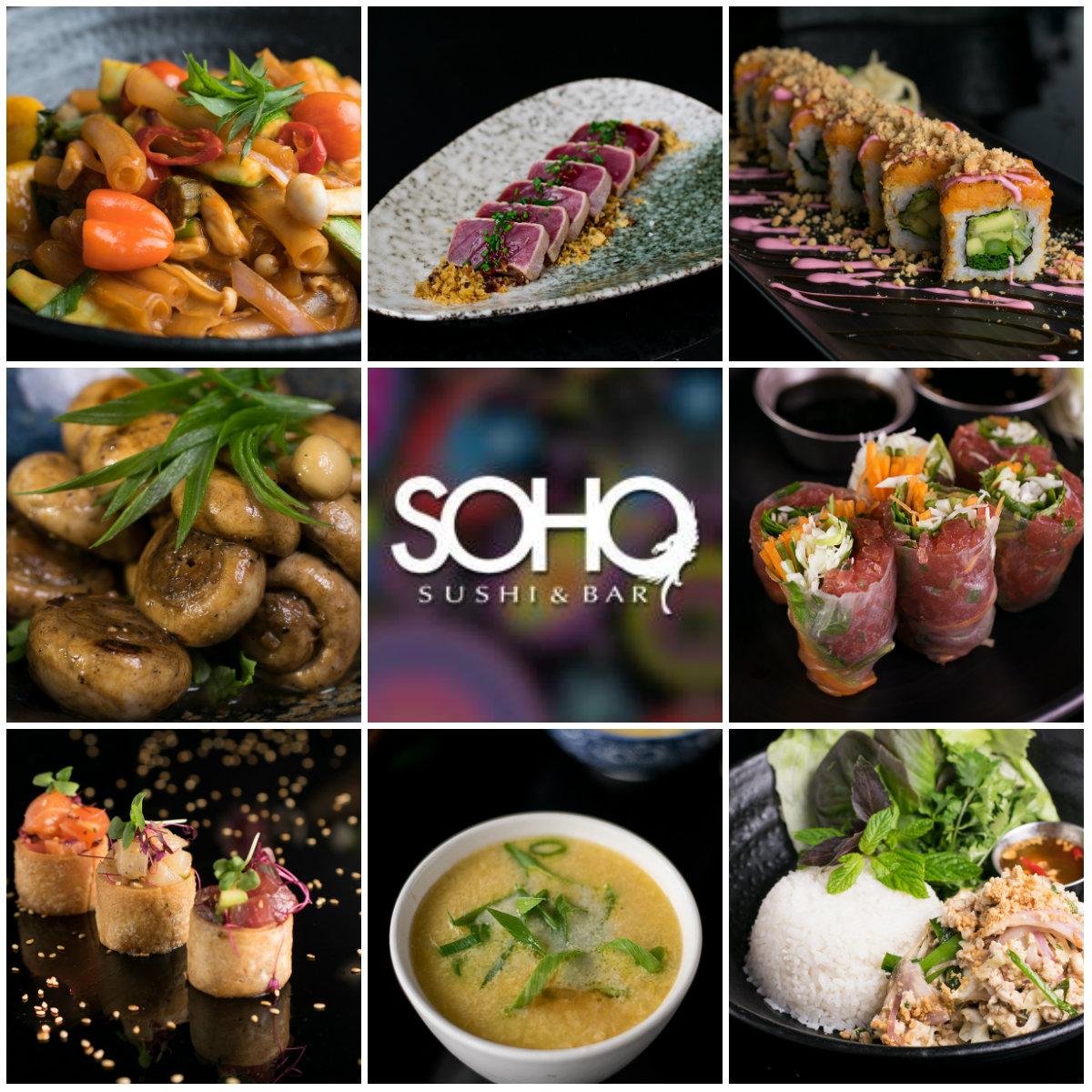 SOHO не перестает удивлять: к 15-летию — 15 новых блюд в меню