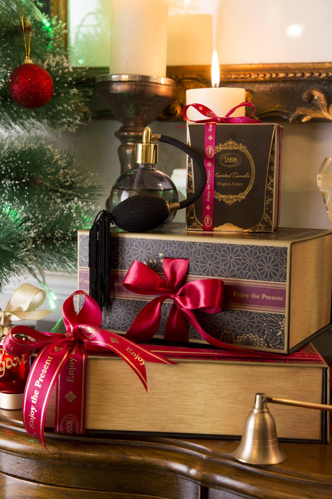 Новогодние подарки в атмосферных бутиках Sabon