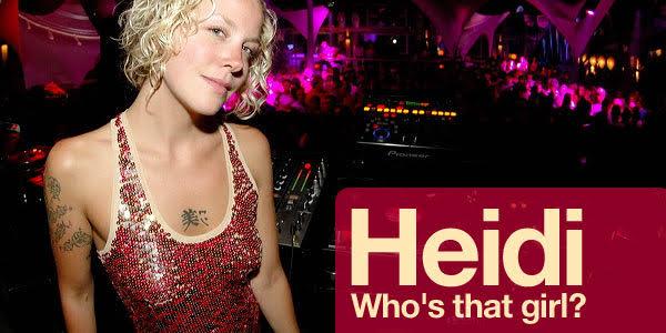 Heidi в клубе The Cat & The Dog