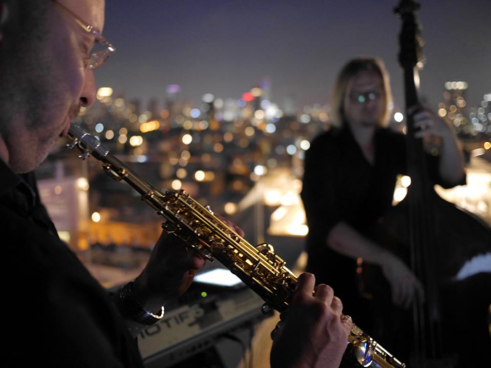 Новый Год 2016 на секретной крыше в центре Тель-Авива