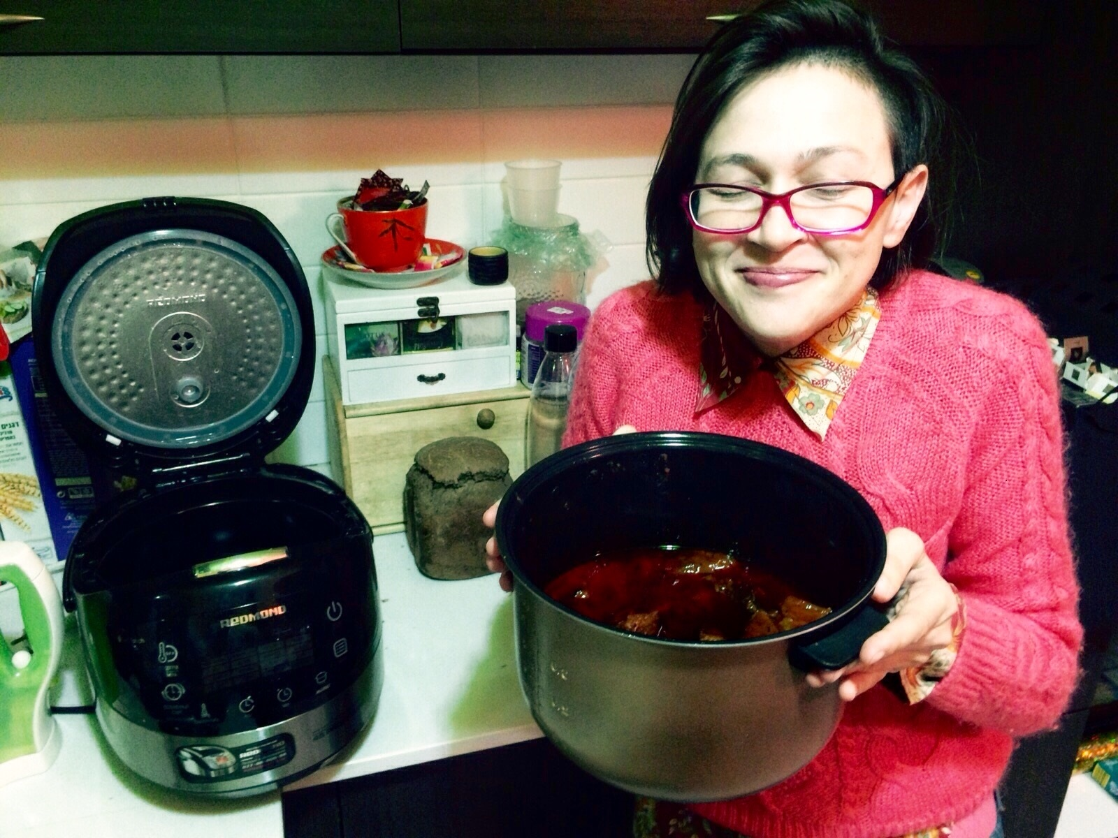 Анна Розина: «В мультиварке Redmond получается полезная и вкусная еда, которую очень любят дети»