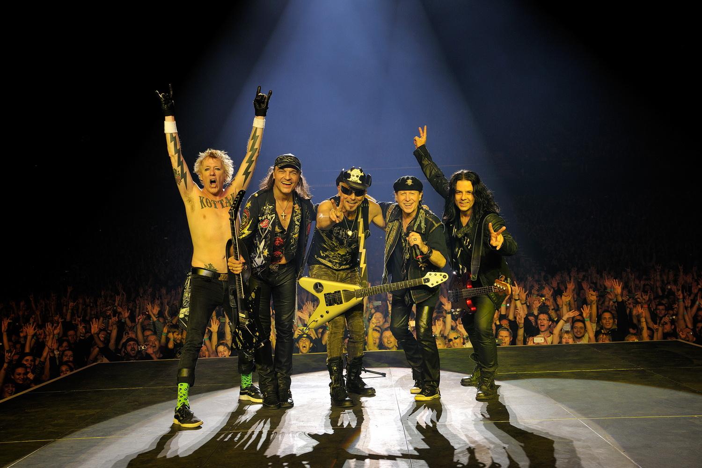Легендарная группа Scorpions выступит в Израиле