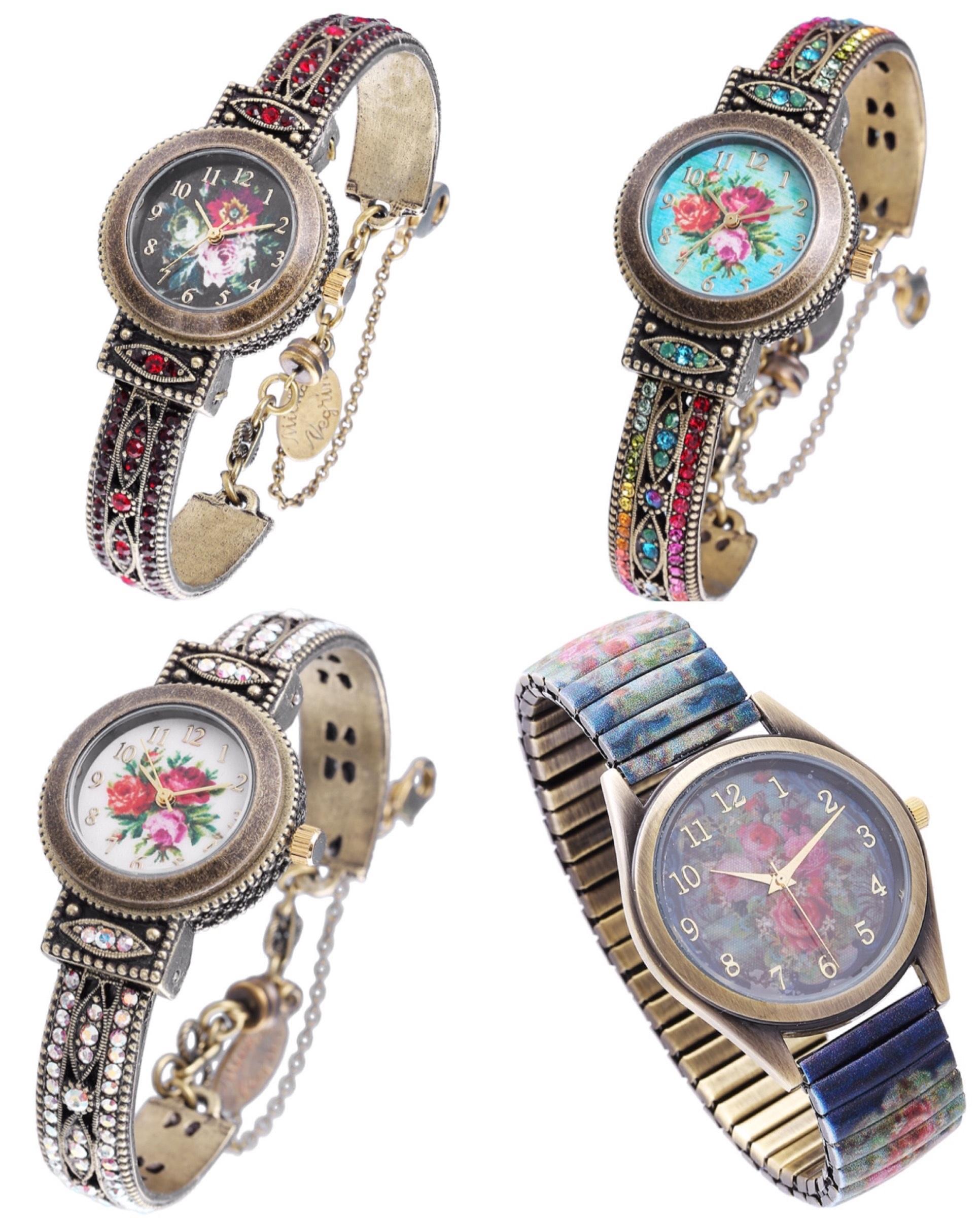 Приближаем весну: часы из новой коллекции Michal Negrin – сегодня от 160 шек.