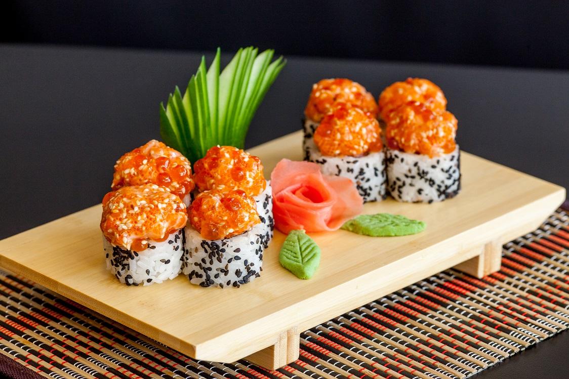 Суши – еда для желающих быть в отличной форме
