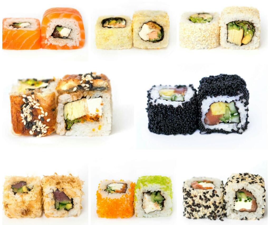 11 видов суши за вечер – лучшее признание в любви