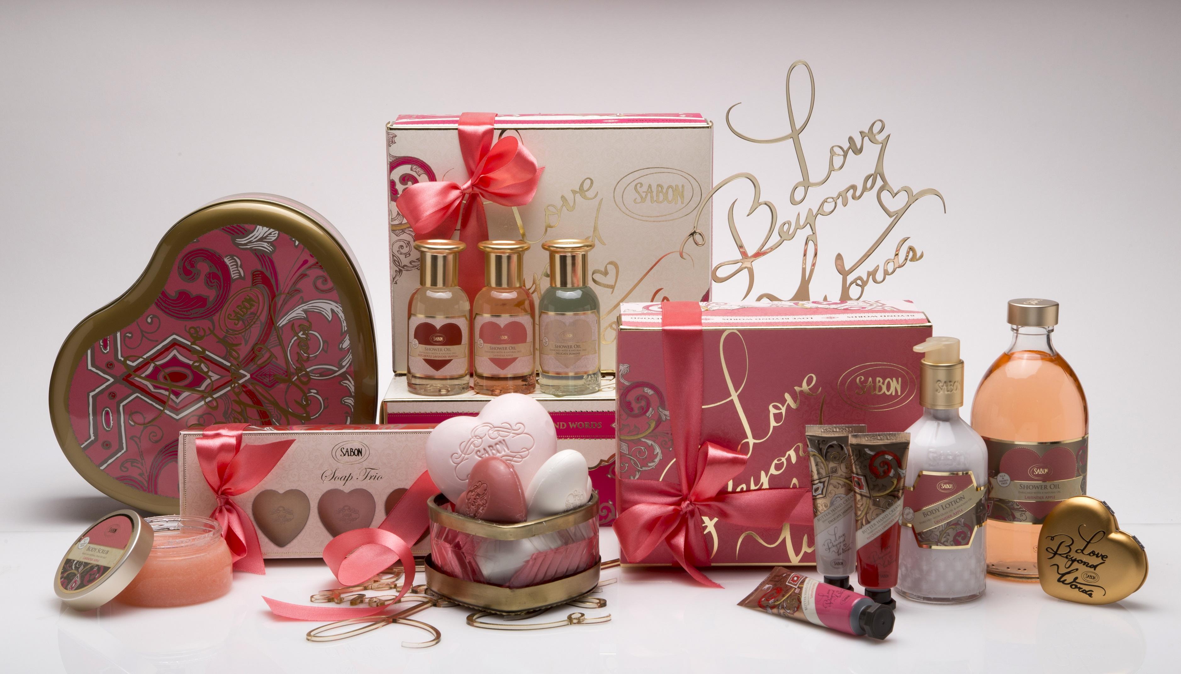 Подарки ко Дню всех влюбленных от Sabon