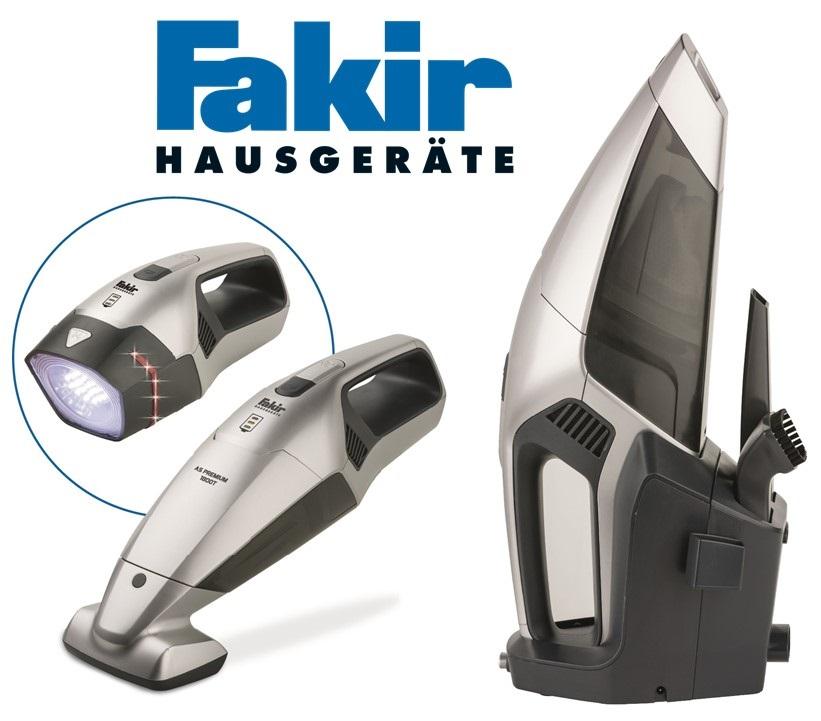 Компактный пылесос FakirAS Premium 1800T:идеальная чистота между масштабными уборками