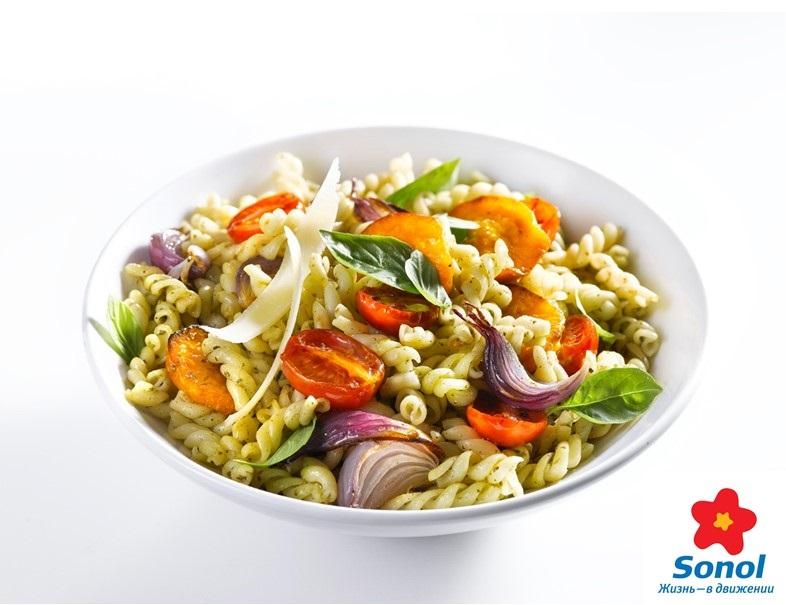 Итальянская кухня на заправках Sonol