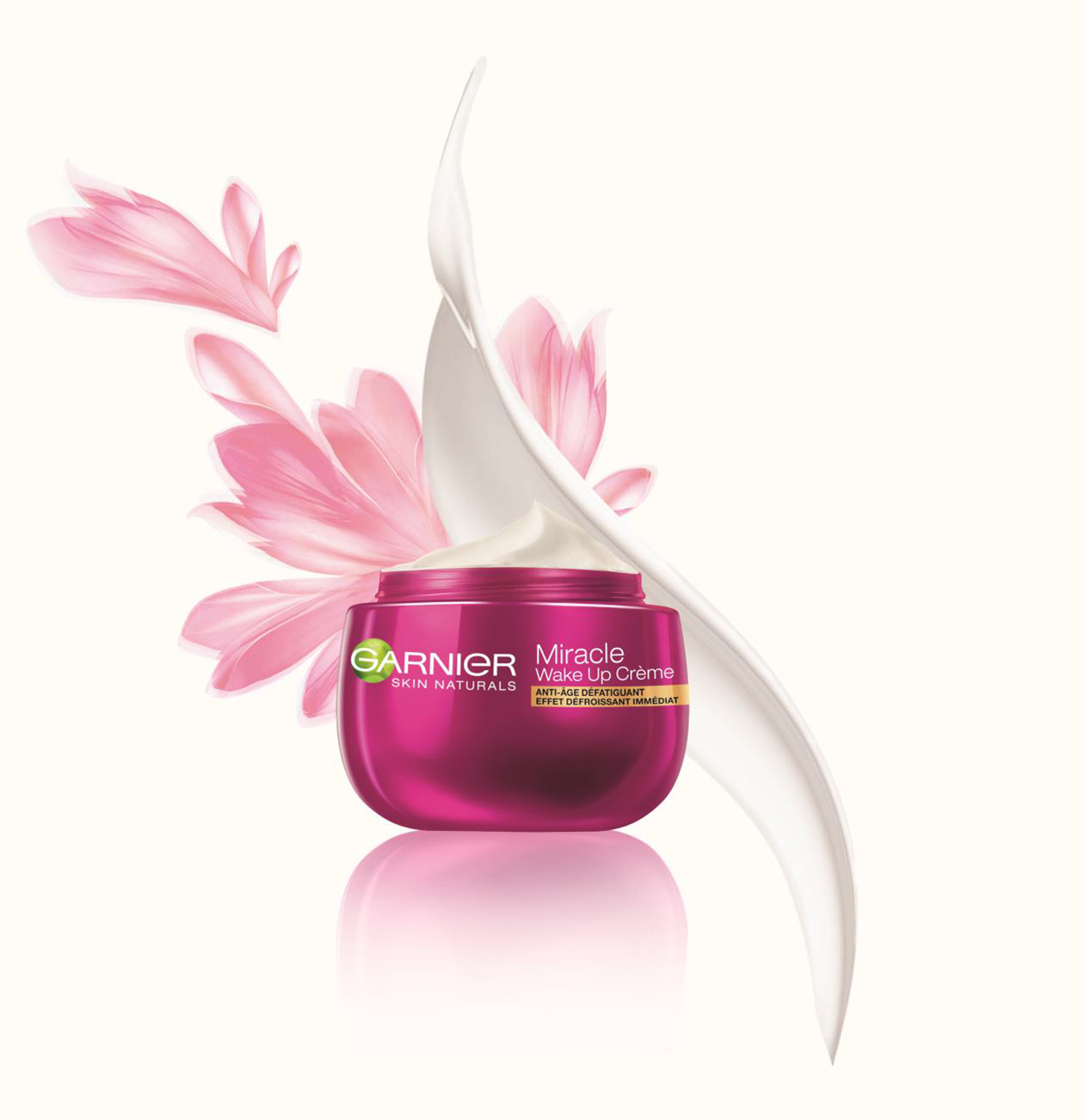 Новинка от Garnier Miracle wake-up cream.