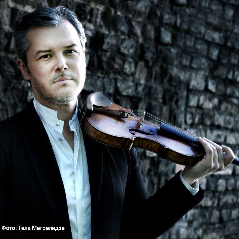 Выдающийся скрипач Вадим Репин впервые выступит с израильским симфоническим оркестром Ришон ле-Циона