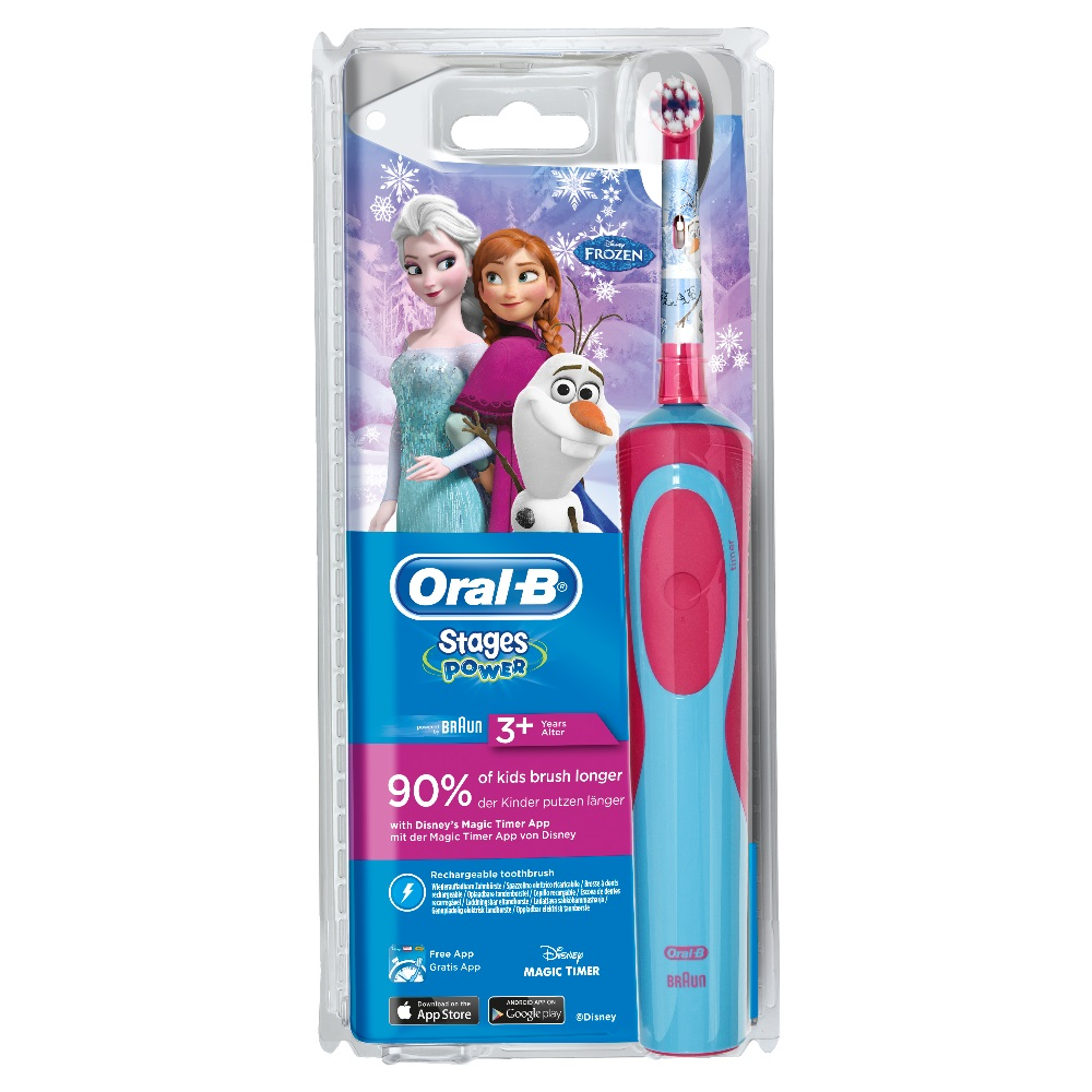 Oral-B_D12 Brush Set_80279912_Frozen D12 Power Brush_Front_WE