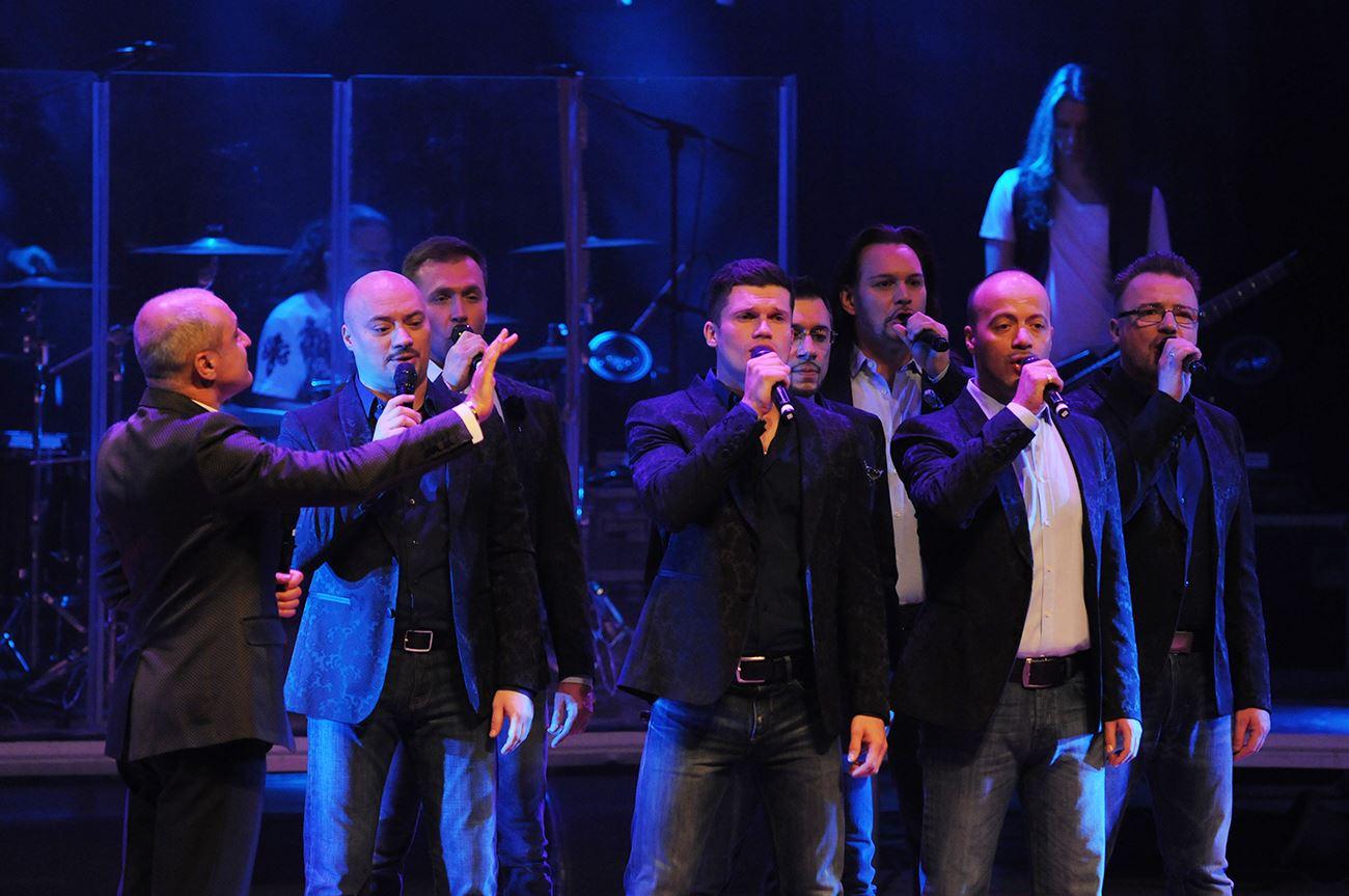 Незабываемый концерт Хора Турецкого в Тель-Авиве