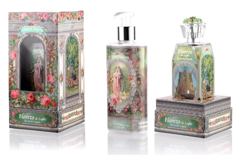 Впервые: дизайнерские духи и крем от Михаль Негрин с ароматом фантазии