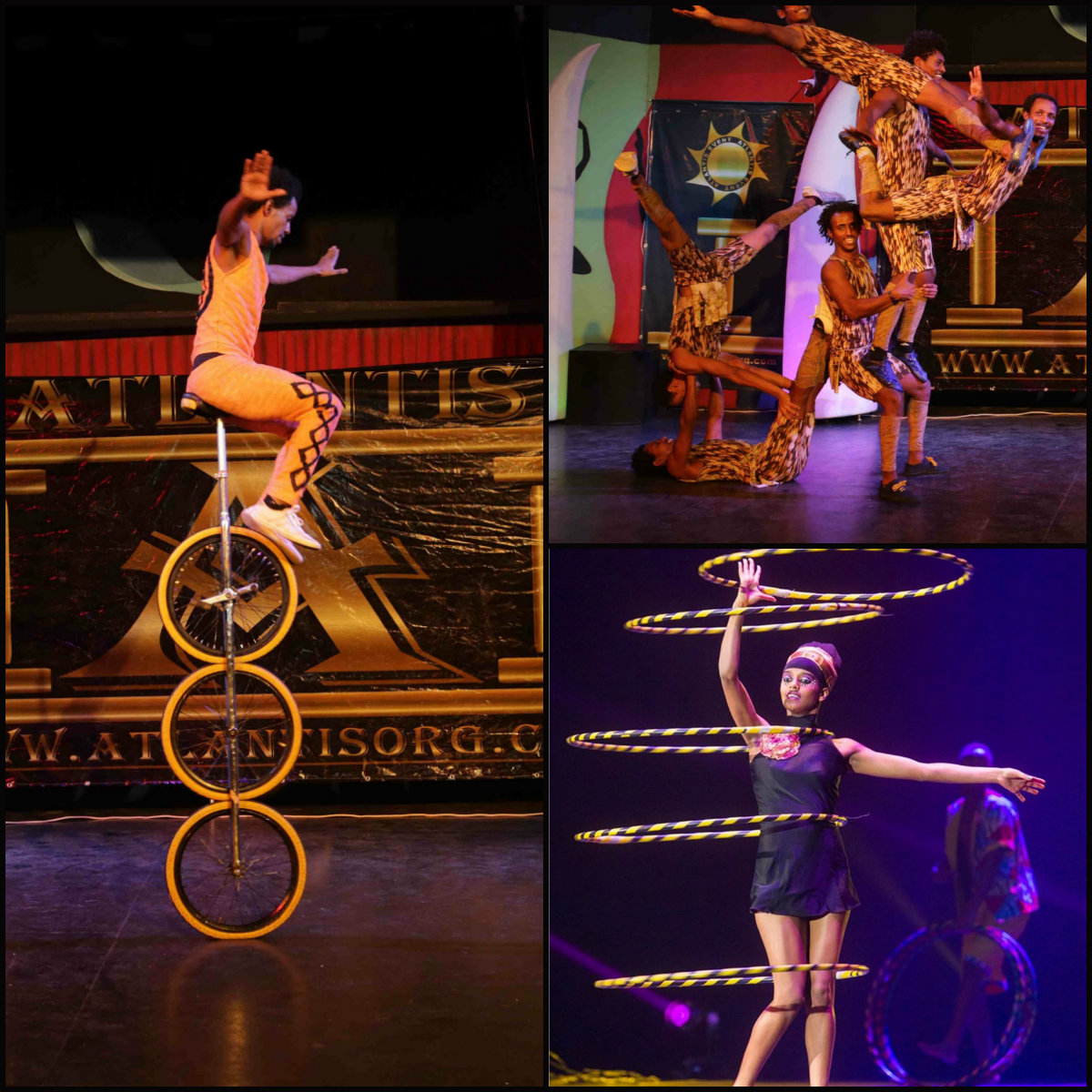 Цирки из Африки и Монголии в гостях у цирка «Браво» на Песах