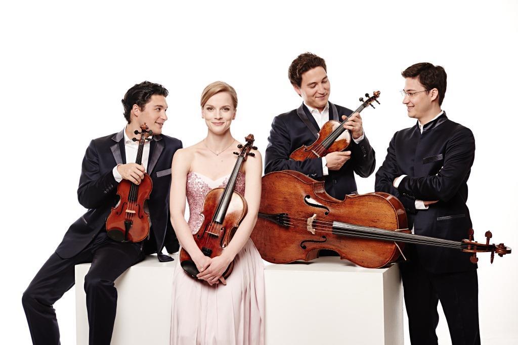 Пятничный концерт. Schumann Quartett