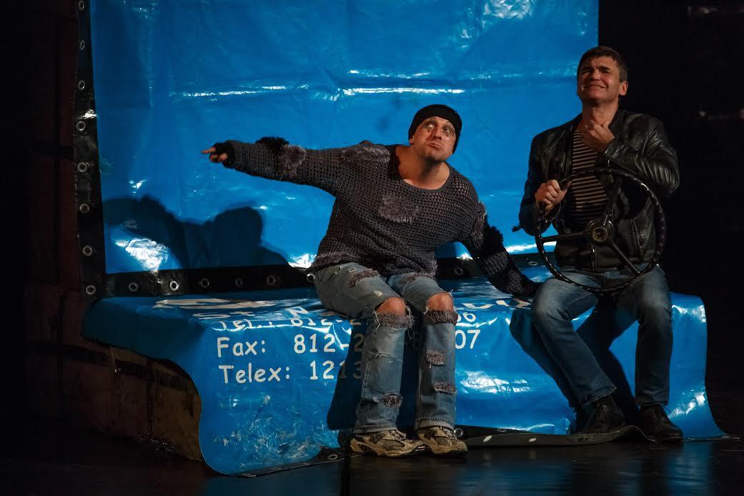 Дмитрий Нагиев и Игорь Лифанов везут в Израиль самый успешный и скандальный спектакль «Кыся»!