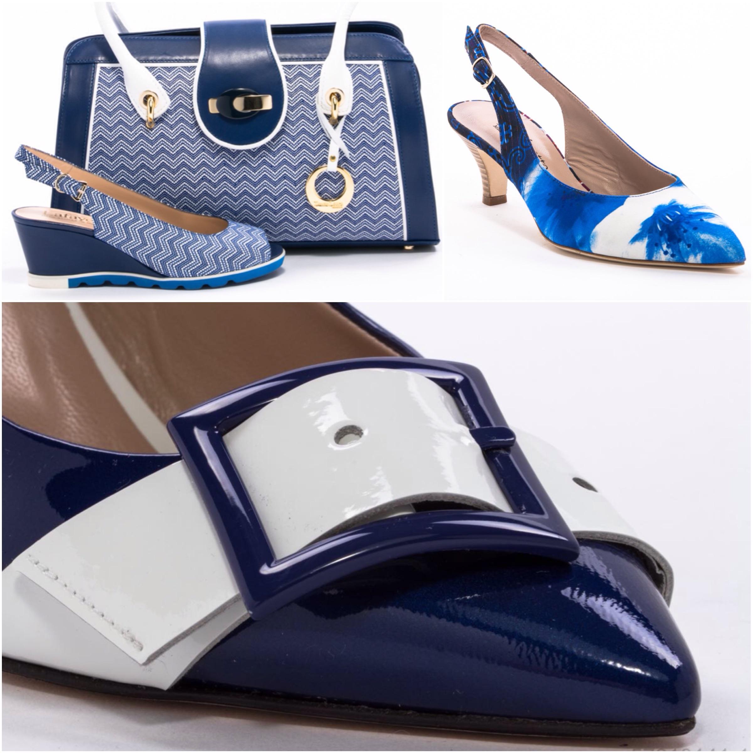 Lafayette Italy: бело-голубая коллекция обуви и сумок ко Дню Независимости Израиля