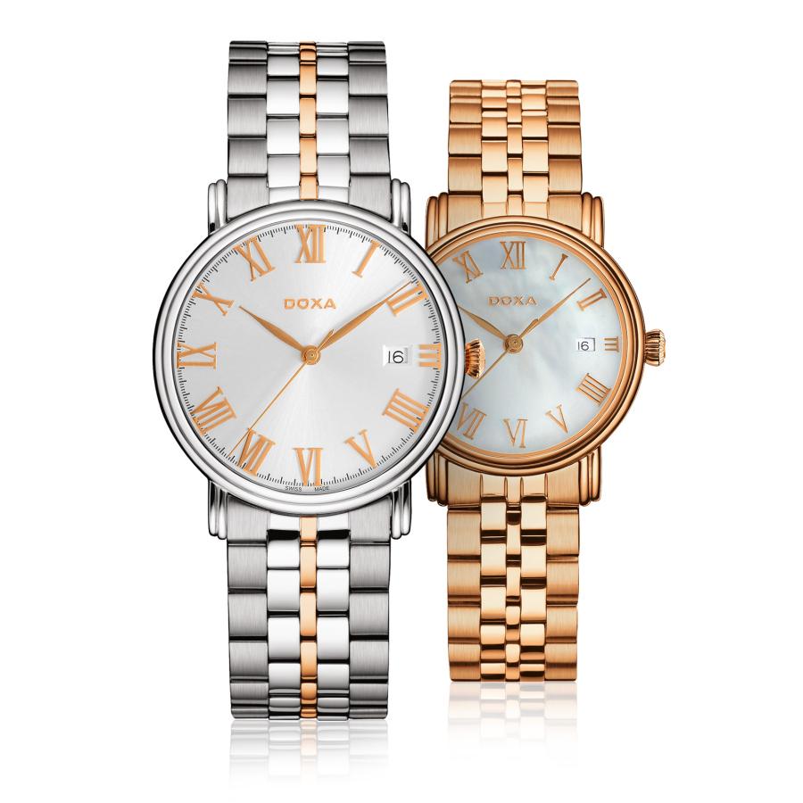 Часы DOXA Royal – элегантно, универсально