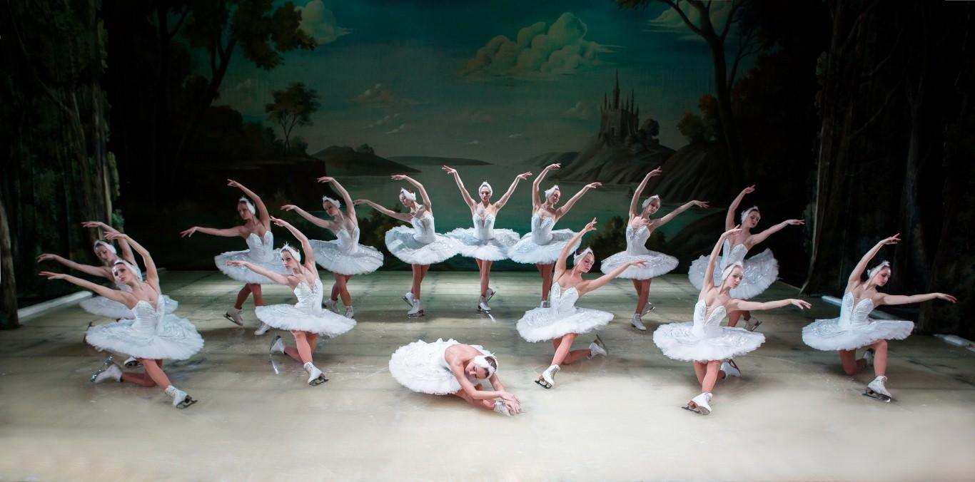 Настоящий балет на настоящем льду