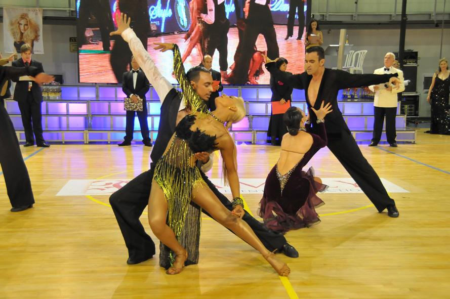 Международный фестиваль спортивных танцев «AshdodOpen-2016»