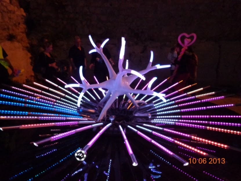 На Фестиваль света в Иерусалим!
