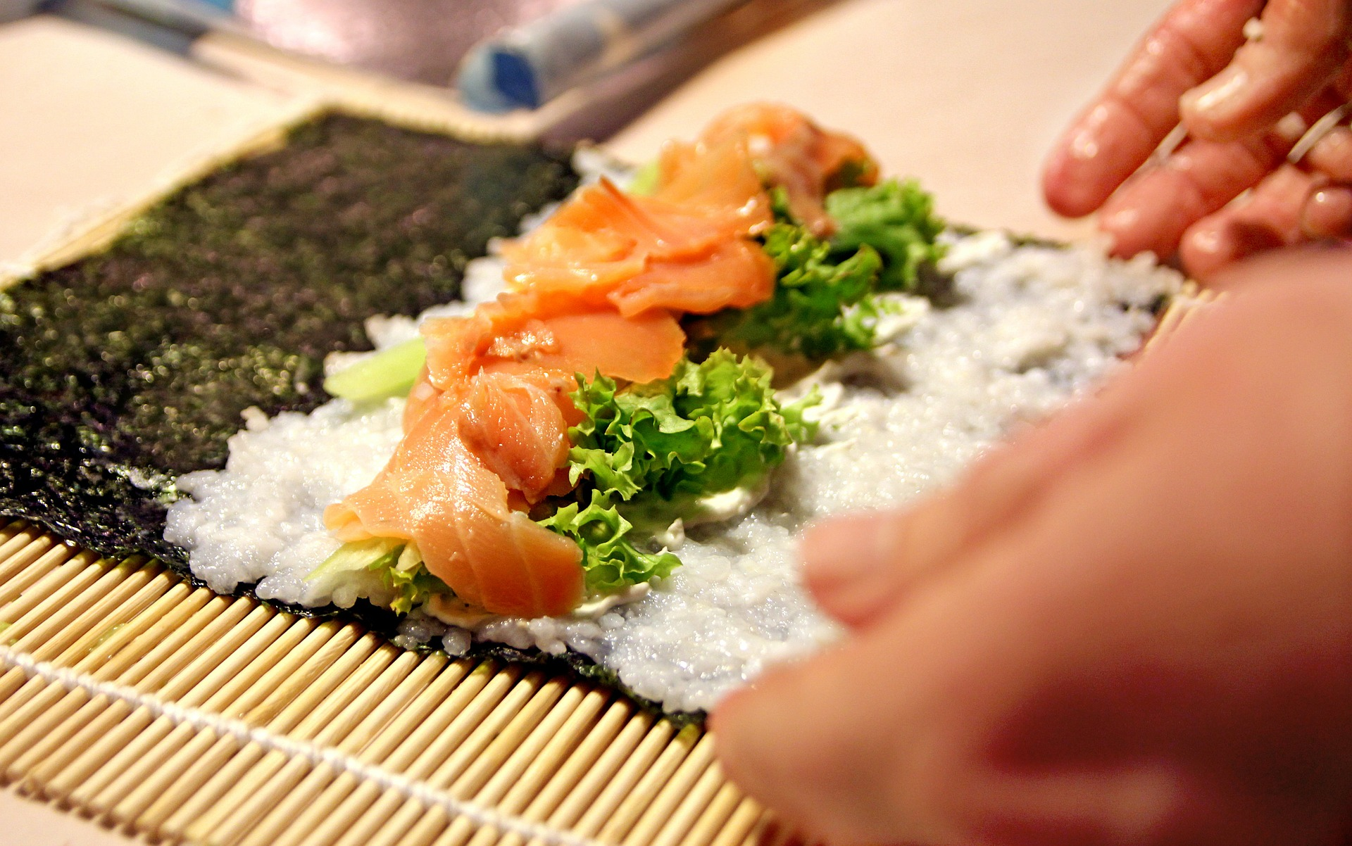 Японская кухня или закрути и съешь