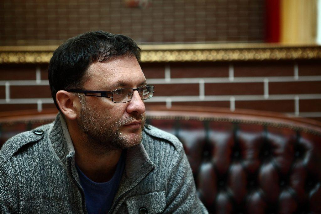 На фото - Михаил Теплицкий   Фотограф Александр Румянцев