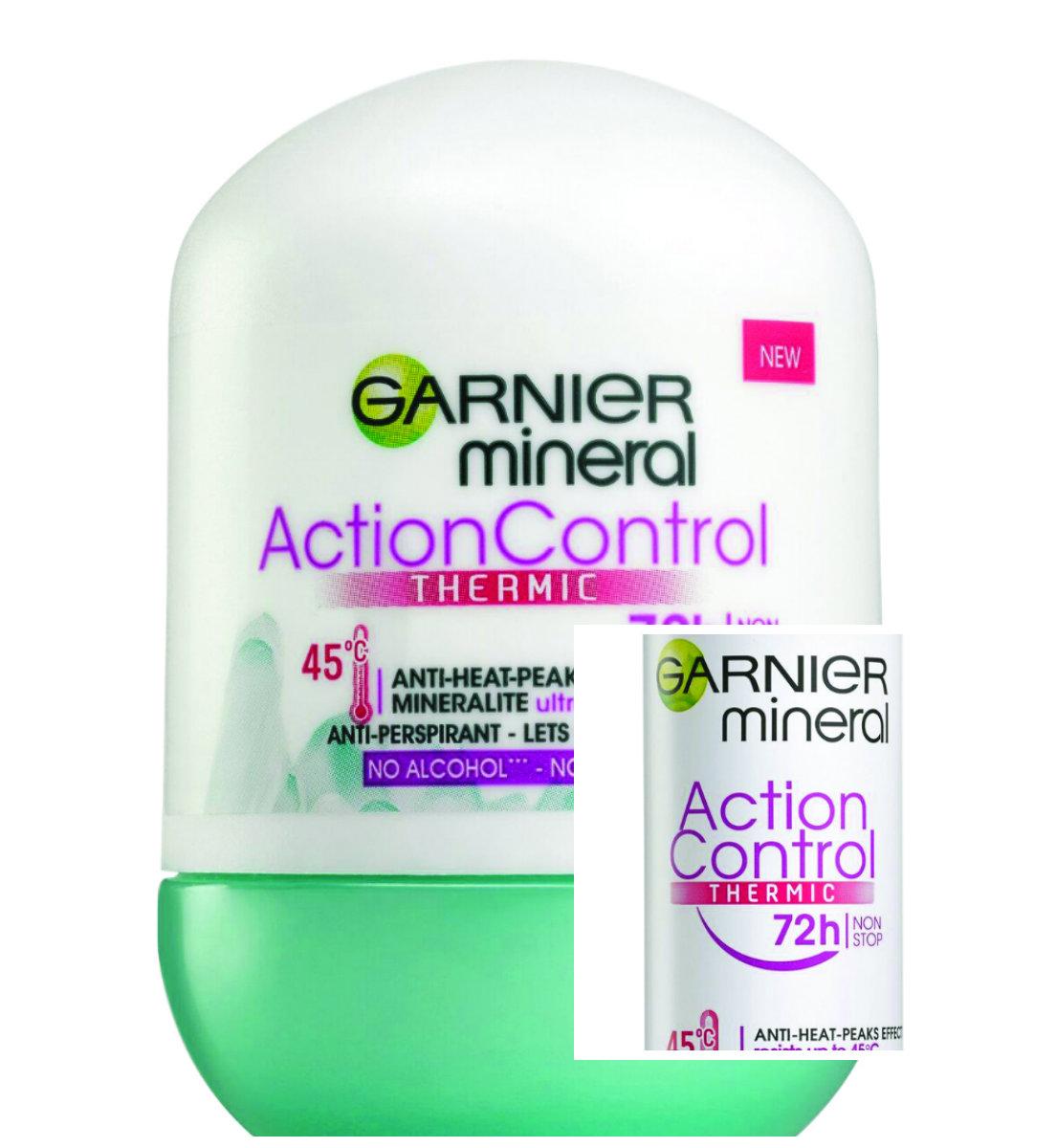 Новинка от Garnier: Дезодорант-антиперспирант Action Control Thermic 72.