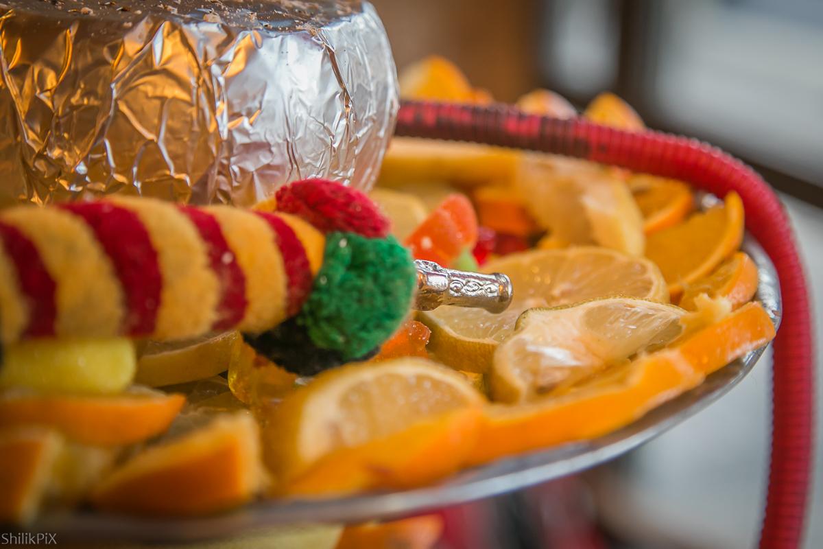Кальян: еда и напитки