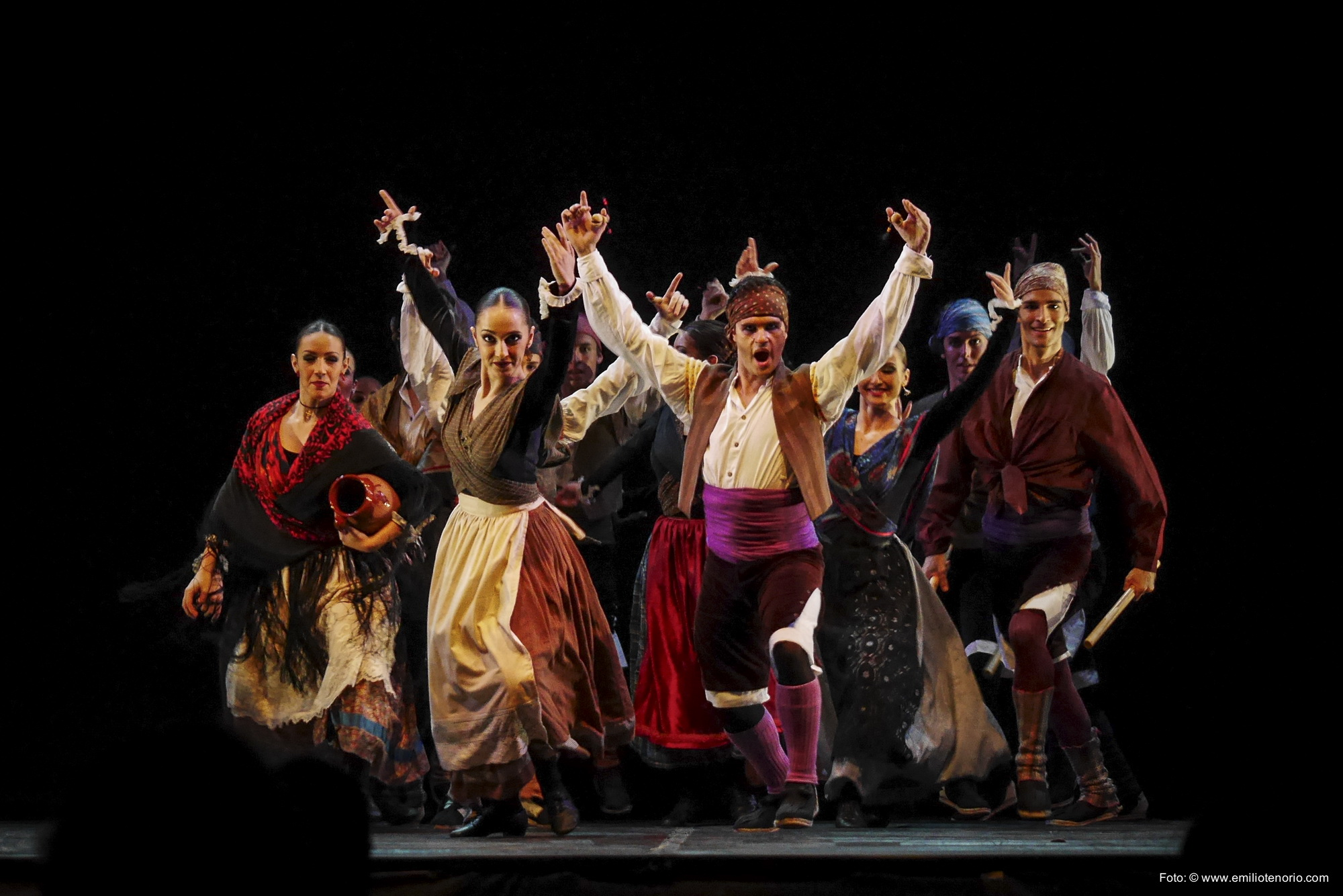 Скоро в Израиле! Красочное шоу «Estampas de Espana»