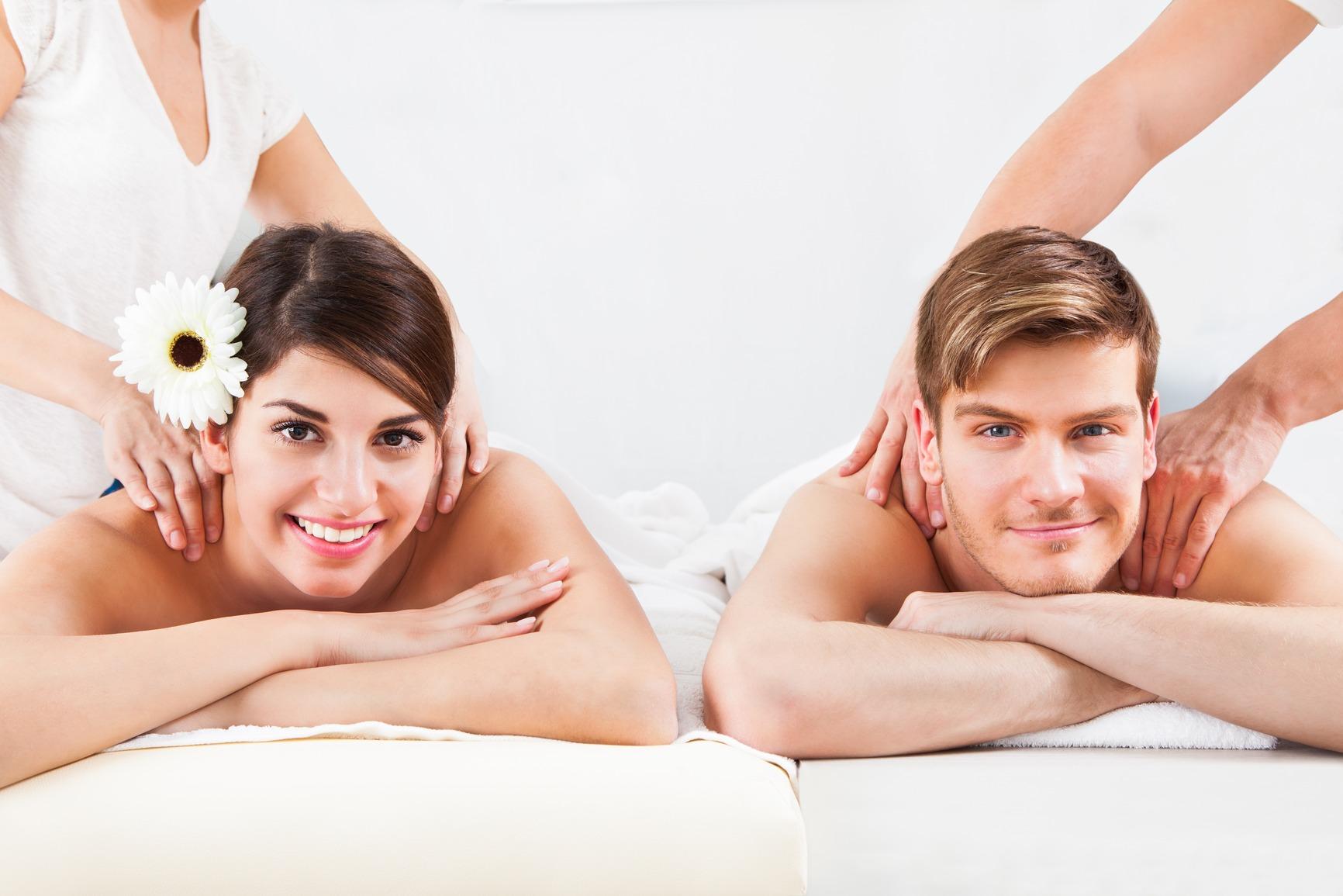 Парный массаж — удовольствие с любимым человеком