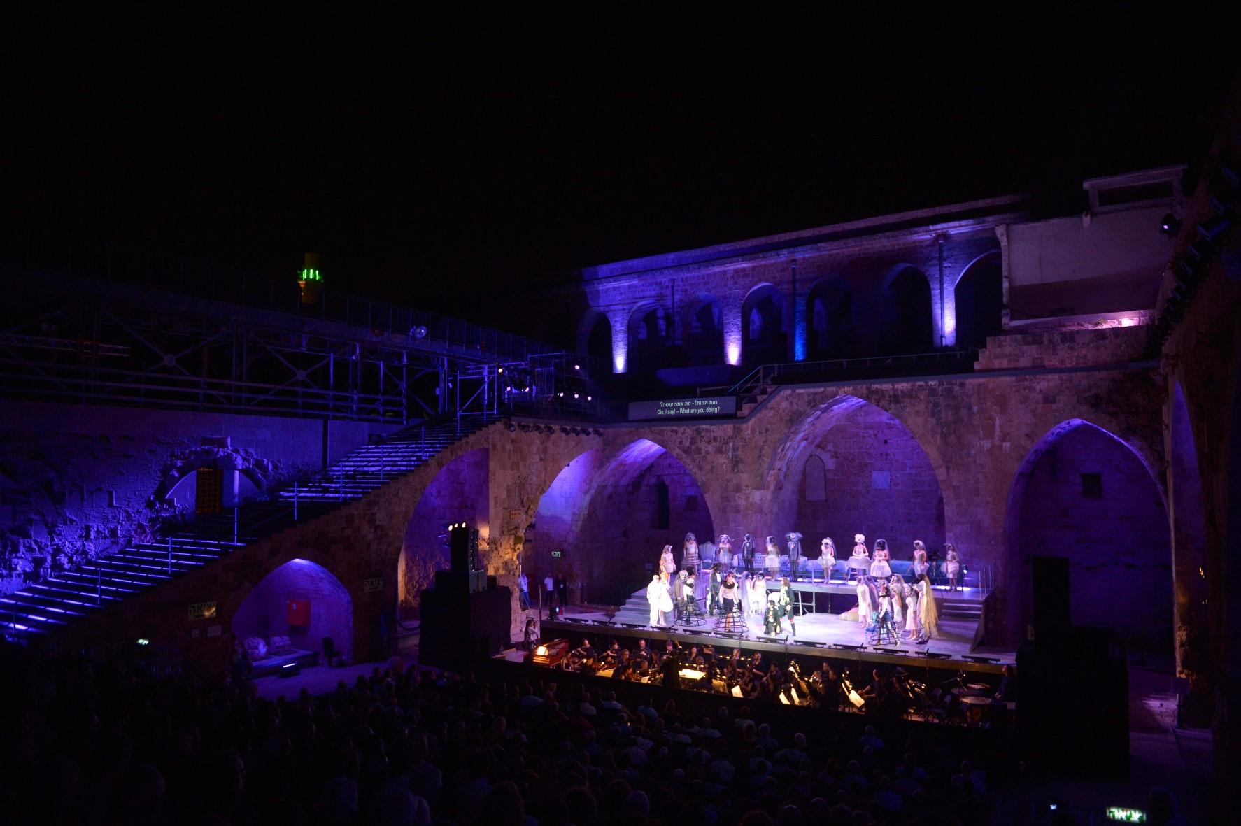 Оперный фестиваль в Старом Акко – ближайший уик-энд