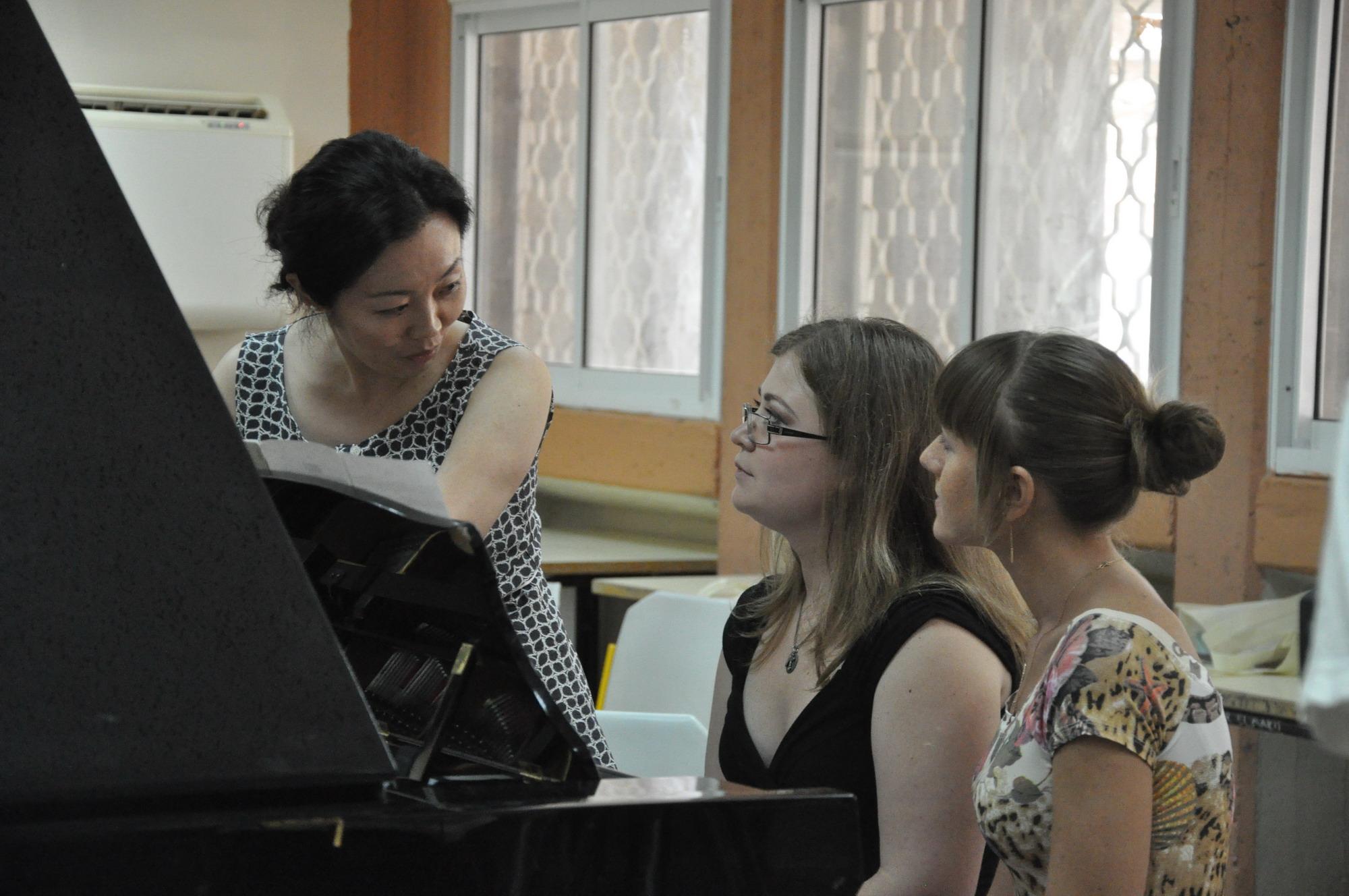Международные фортепианные мастер-классы «Тель-Хай». С 31 июля по 17 августа в кибуце Сде-Бокер