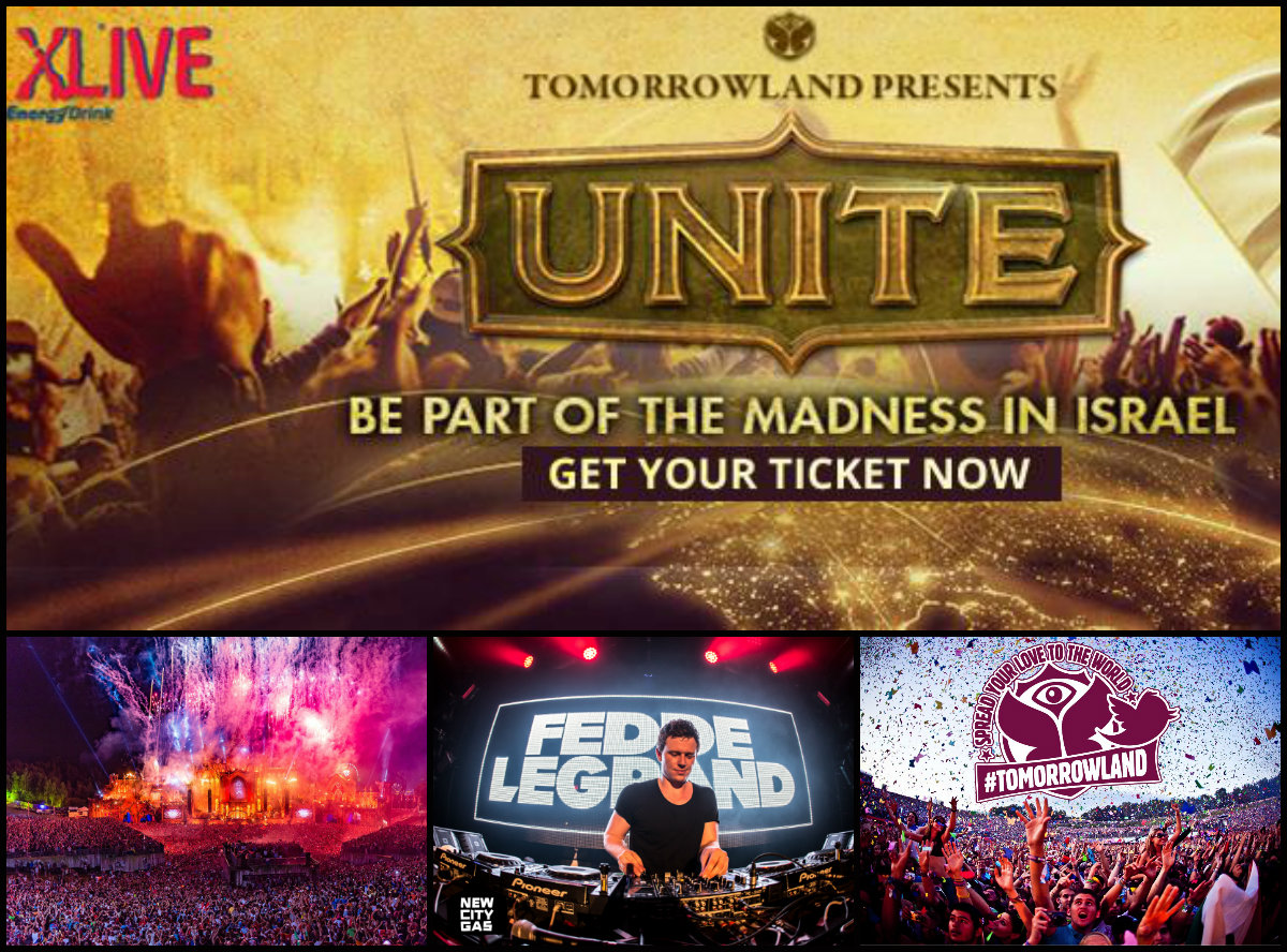 Tomorrowland Unite в Израиле