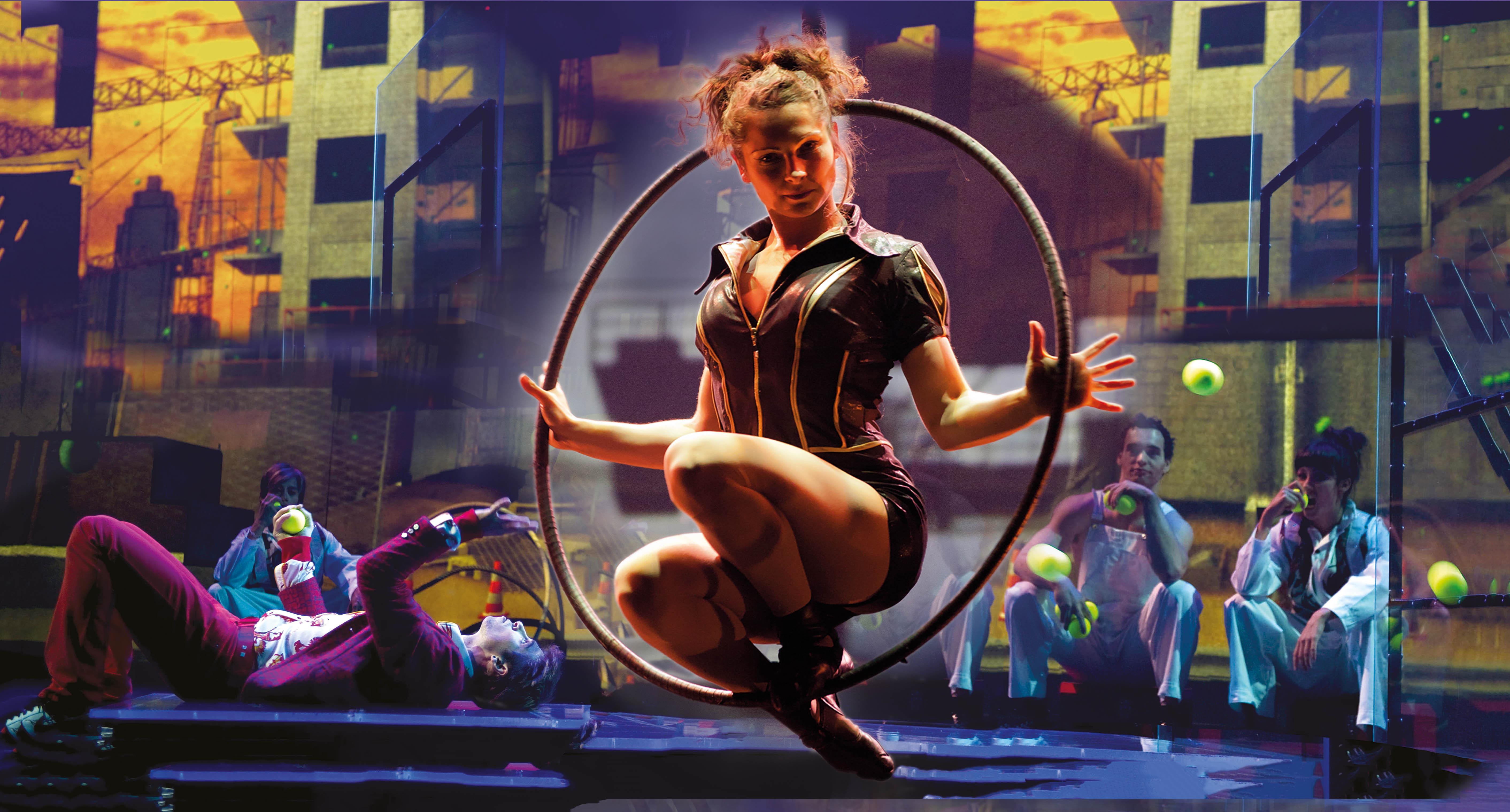 Настоящий цирковой театральный балаганв трех частях