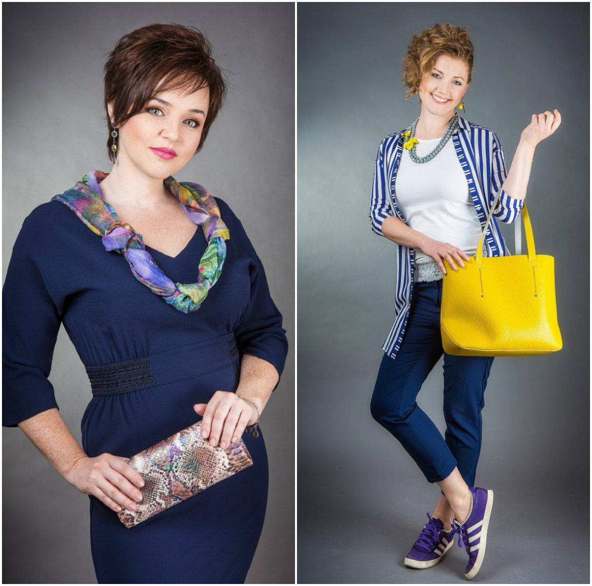 We never go out of style: стилисты подбирают модные образы в стиле Crazy Line для своих коллег